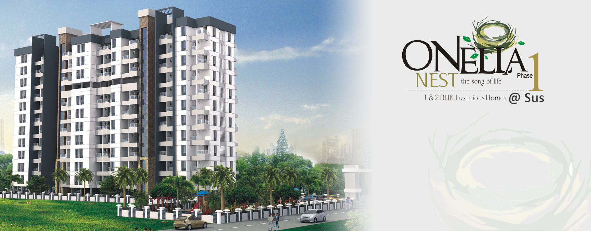 1 & 2 BHk Luxurious Homes @ Sus